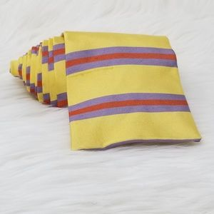 Relax by Tommy Bahama Striped Square End Men Tie